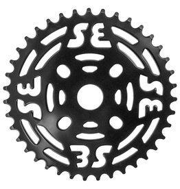 "SE BIKES Chainwheel 1pc 39T 1/8"" Steel Black"