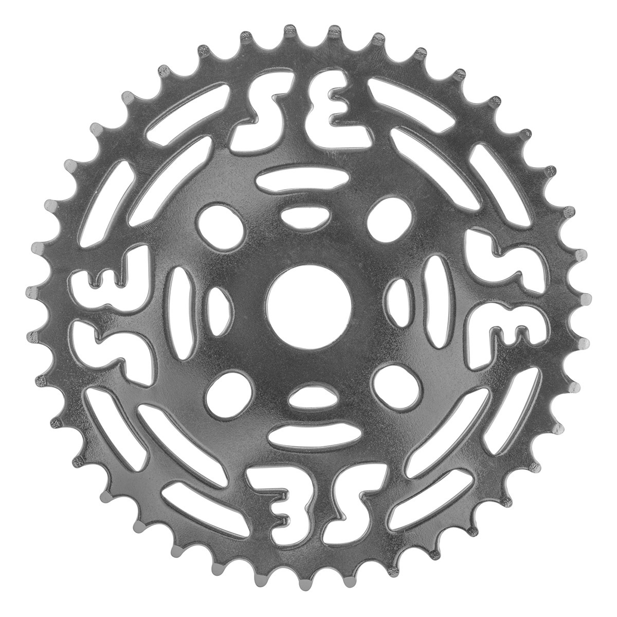 "SE BIKES Chainwheel 1pc 39T 1/8"" Steel Chrome"