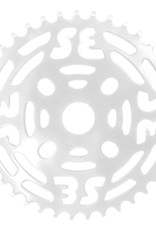 "SE BIKES Chainwheel 1pc 39T 1/8"" Steel White"