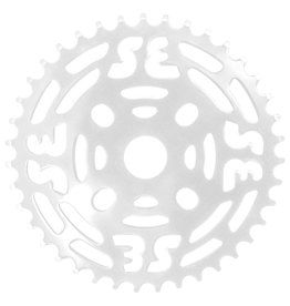 "SE BIKES Chainwheel 1pc 39T 1/8"" Steel White"
