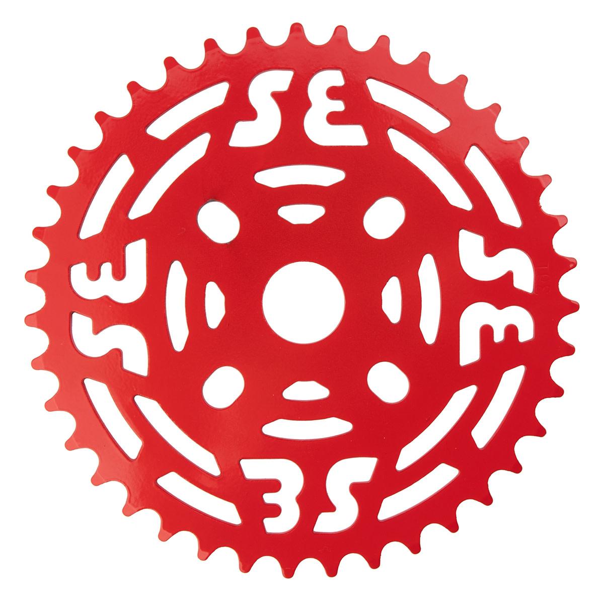 "SE BIKES Chainwheel 1pc 39T 1/8"" Steel Red"