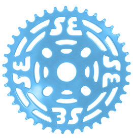 "SE BIKES Chainwheel 1pc 39T 1/8"" Steel Blue"