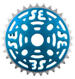 "SE BIKES Chainwheel 1pc 33T 1/8"" Dk. Blue"