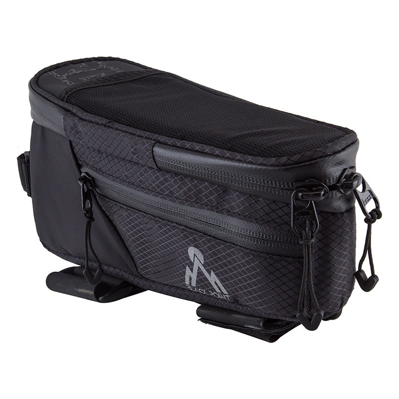 BLACK POINT Frame Bag Top Tube Macropod Black