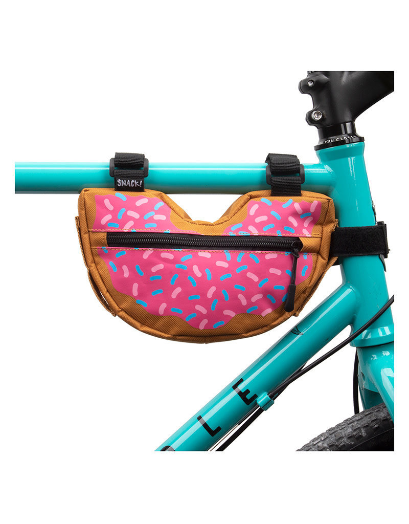 SNACK! Snack! Frame Bag Donut