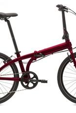 Tern Node C8 Folding Bike Dark Red