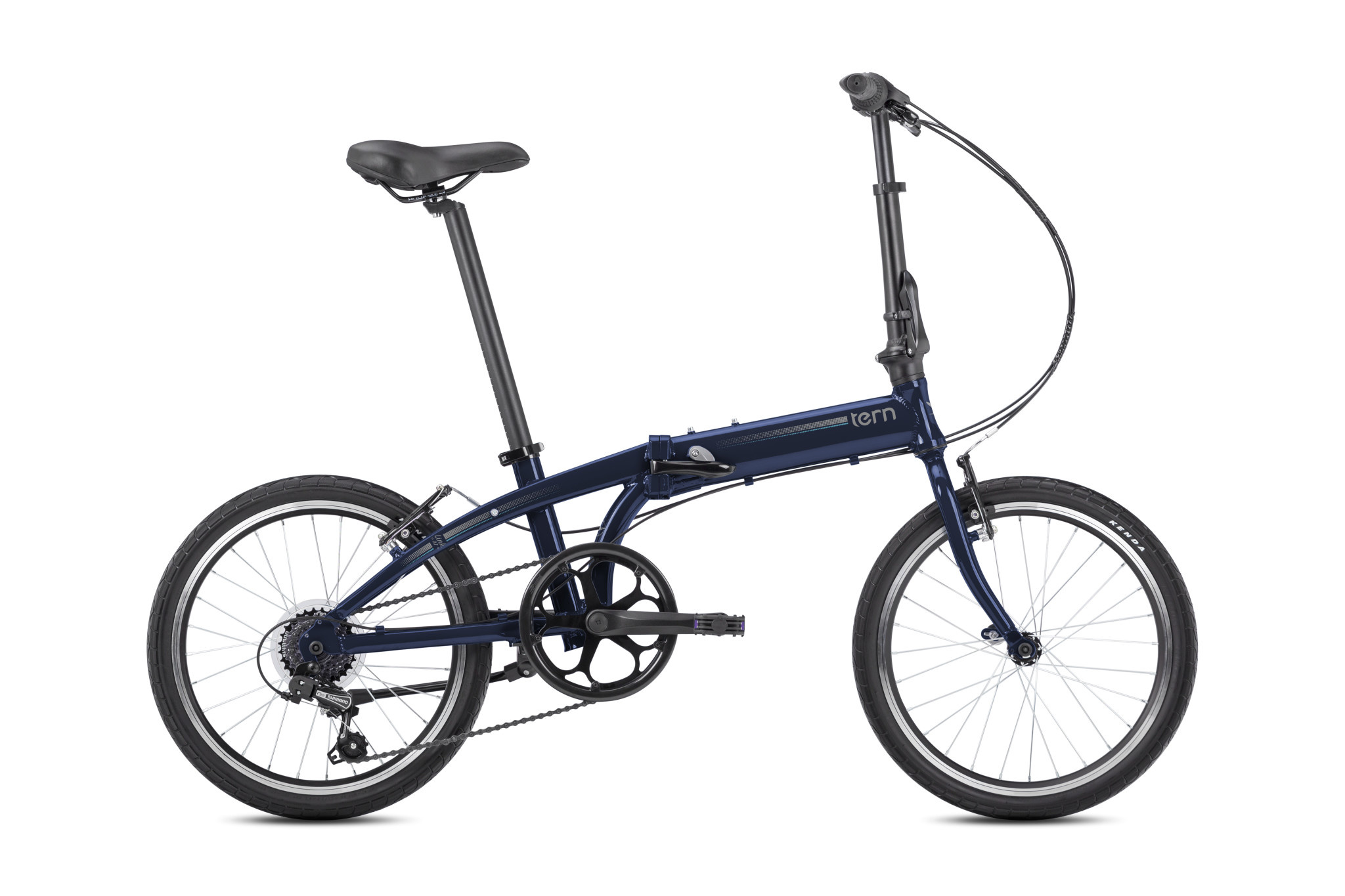 Tern Link A7 Folding Bike Midnight