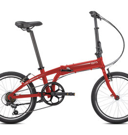 Tern Link A7 Folding Bike Red