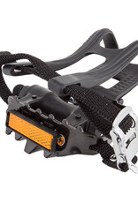 "Pedals 9/16"" MTB w/ Large clips and straps"
