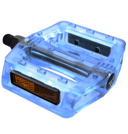 "Pedals 1/2"" BMX Translucent Blue"