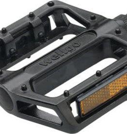 "Wellgo Pedals 9/16"" BMX B087 Black"