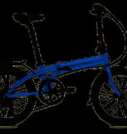 Tern Link C8 Folding Bike Dark Blue