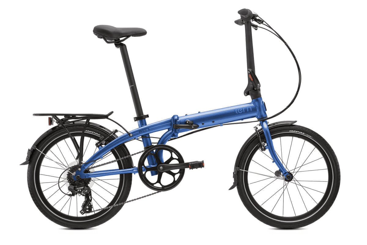 Tern Link C8 Folding Bike Dark Blue