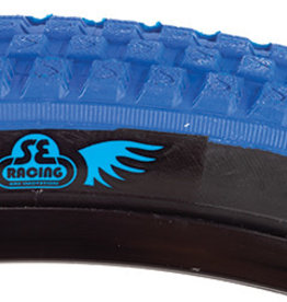 SE BIKES Tire 24 x 2.0 Cub Blue/Black