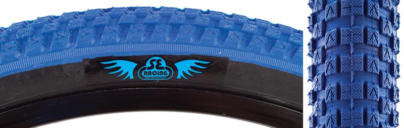 SE BIKES Tire 24 x 2.0 Cub Blue/Black