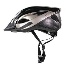 Helmet Karv S/M 54-58cm Gloss Black/Silver