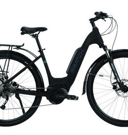 Batch Bicycles E Step Thru Plus M/L Black 700c