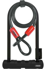 "ABUS U-Lock Ultra 410 Mini 7"" + Cobra Cable #8"
