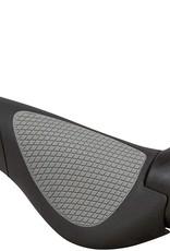 GP3-L Grips - Black/Gray, Lock-On, Large