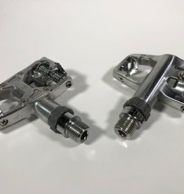 Wellgo Clipless Pedals WAM-R4 Single Sided Silver
