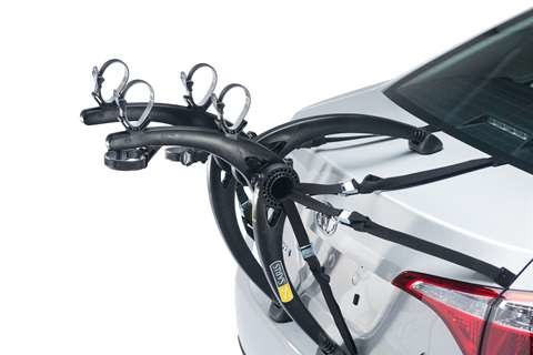 Saris Car Rack Bones 805BL 2 Bike Trunk