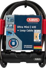 "ABUS U-Lock Ultra 410 Mini 5.5"" + Cobra Cable #8"