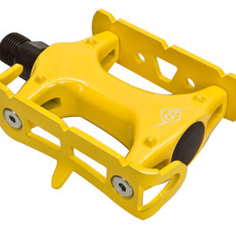 """Pedals 9/16"""" Track Lite Yellow"""