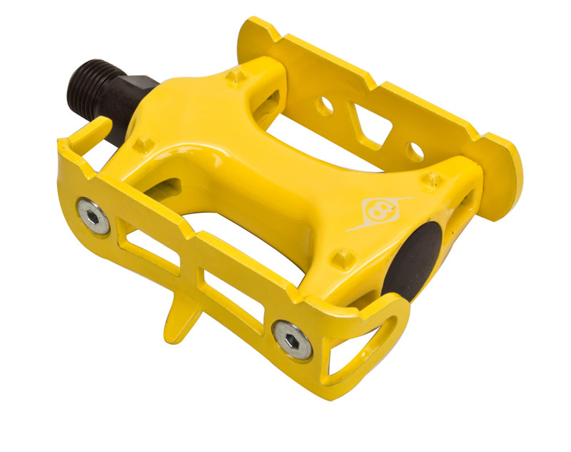 "Pedals 9/16"" Track Lite Yellow"