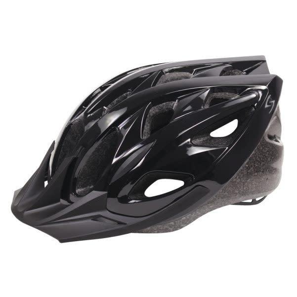 Helmet Karv L/XL 58-62cm Gloss Black