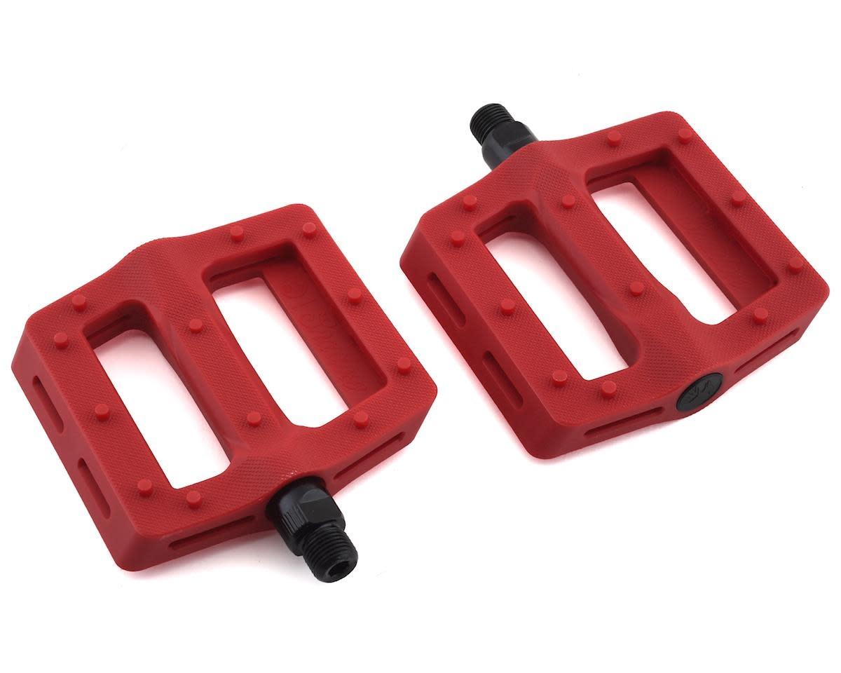 """Pedals 9/16"""" BMX Red"""
