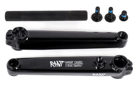 RANT Crank BMX Bangin 8, 175mm Black