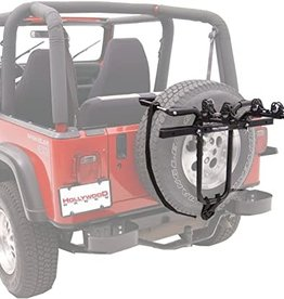 Hollywood Car Rack SR1 Spare Tire Mount 2 Bike