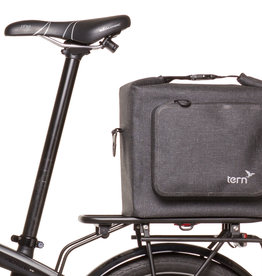 Tern Rear Rack Dry Goods Bag Tweed Black