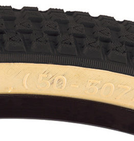 SE BIKES Tire 24 x 2.0 Cub Black/Tan