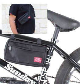 Switch Pack Frame Bag And Hip/Sling Pack Black