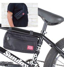 Switch Pack Frame Bag And Hip/Sling Pack Black