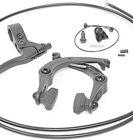 U-Brake Set Springfield Black w/ Lever and Cable