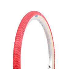 SE BIKES Tire 24 x 2.0 Cub Red/Tan