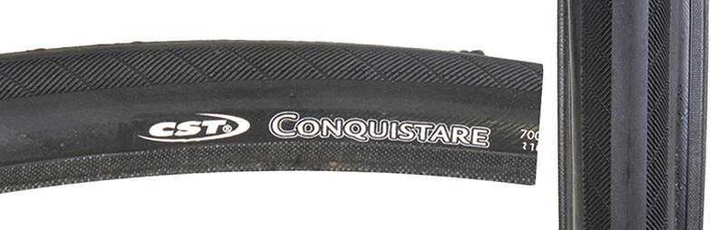 CST PREMIUM Tire 700 x 23 Conquistare Black
