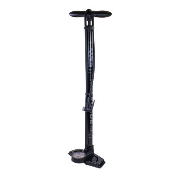 Floor Pump Tier 2 Smart Head W/ gauge Blk