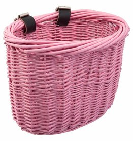Sunlite Basket Kids Wicker Pink