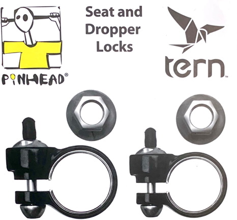 PINHEAD Seatpost Clamp Lockset for GSD/HSD Gen 1