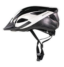 Helmet Karv S/M 54-58cm Gloss Black/White
