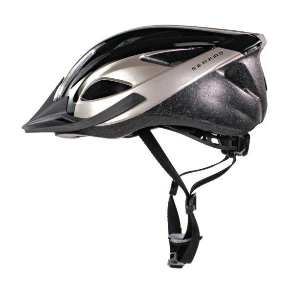 Helmet Karv L/XL 58-62cm Gloss Black/Silver
