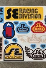 SE BIKES Sticker Set BMX Old School