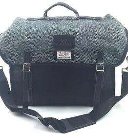 Carradice Brompton City Folder M Bag Harris Tweed 25L