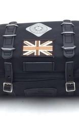 Carradice Barley Saddlebag Union Jack Black 9L