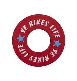 SE BIKES Grip Donuts SE Bikes Life Red