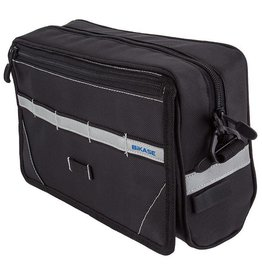 BiKase Handlebar Bag Nav w/Bracket Black