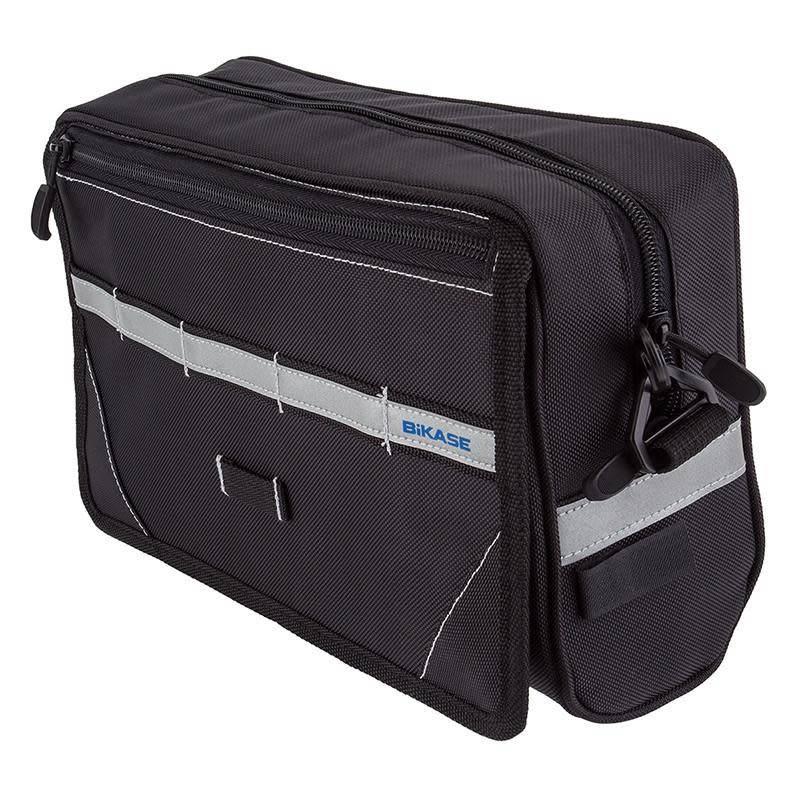 BiKase Handlebar Bag Nav w/Bracket Black